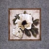 Silversage Flower I Framed Print