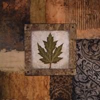 """Fallen Leaf II (green) by Michael Marcon - 18"""" x 18"""""""