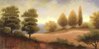 "September Countryside - detail by Michael Marcon - 24"" x 12"""