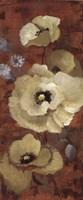 "Autumn Poppies II by Lanie Loreth - 8"" x 20"""