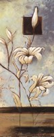 """White Lilies I by Patricia Pinto - 8"""" x 20"""" - $9.99"""