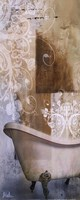 "Bath Room & Ornaments I by Patricia Pinto - 8"" x 20"""