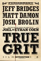 "True Grit Bridges Damon Brolin - 11"" x 17"""
