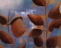 "Eco Blue II by Patricia Pinto - 20"" x 16"""