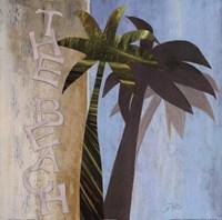 """The Beach by Patricia Pinto - 18"""" x 18"""""""