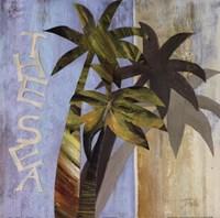 """The Sea by Patricia Pinto - 18"""" x 18"""", FulcrumGallery.com brand"""