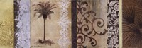 """Decorative Palm II by Michael Marcon - 36"""" x 12"""""""