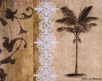 """Decorative Palm I (detail) by Michael Marcon - 20"""" x 16"""""""