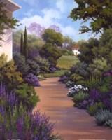 Garden Path I Fine Art Print