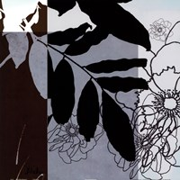"Blue & White Shilouette II by Patricia Pinto - 18"" x 18"", FulcrumGallery.com brand"