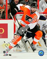 Scott Hartnell 2010-011 Action Fine Art Print