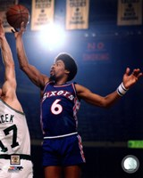 Julius Erving 1975 Action Fine Art Print