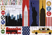 "New York City Experience by Mo Mullan - 36"" x 24"""