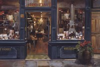 "Parisan Wine Shop by Marilyn Hageman - 36"" x 24"""
