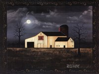 Moonlit Farmstead Fine Art Print
