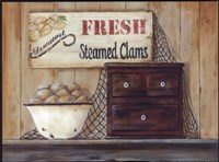 Steamed Clams Fine Art Print