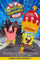 SpongeBob SquarePants Movie Cartoon Wall Poster