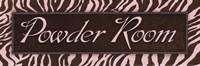 "Powder Room - mini by Todd Williams - 18"" x 6"""