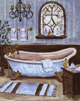 Tranquil Tub II - mini Fine Art Print