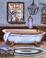 Tranquil Tub I - mini Fine Art Print