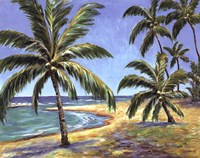 Tropical Beach Fine Art Print