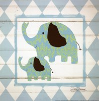 Elephants Fine Art Print