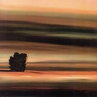 "Fields of Green I by Robert Holman - 27"" x 27"""