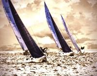 Racing Waters II - mini Fine Art Print