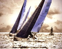 Racing Waters I - mini Fine Art Print