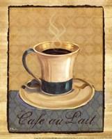 "Coffee Club III- Mini by Paul Brent - 8"" x 10"", FulcrumGallery.com brand"