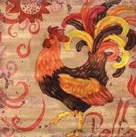 "Royale Rooster II by Paul Brent - 12"" x 12"""