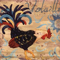 "Royale Rooster I by Paul Brent - 12"" x 12"""