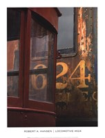 "Locomotive #624 by Robert A. Hansen - 14"" x 18"""