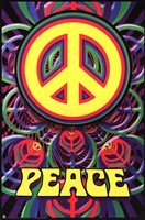 Peace Sign Wall Poster