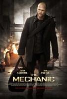 "The Mechanic - man walking with a black bag - 11"" x 17"""