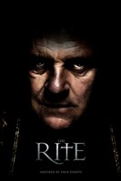 The Rite - man's face Wall Poster