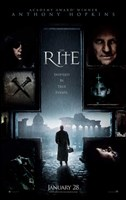 The Rite - upside down cross Wall Poster