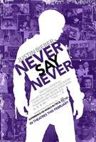 Justin Bieber: Never Say Never Film Wall Poster