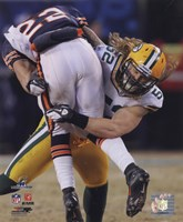 Clay Matthews 2010 NFC Championship Game Action Fine Art Print