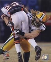 "Clay Matthews 2010 NFC Championship Game Action - 8"" x 10"""