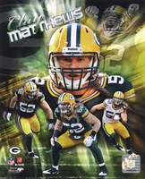 Clay Matthews 2011 Portrait Plus Fine Art Print