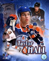 Taylor Hall Portrait Plus Framed Print