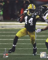 """James Starks Action from Super Bowl XLV - 8"""" x 10"""""""
