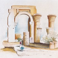 Ravine del Tempiale Fine Art Print