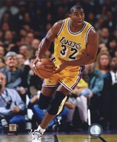 Magic Johnson 1995-96 Action Fine Art Print