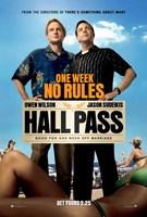 "Hall Pass - 11"" x 17"""