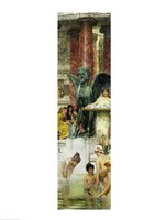 In the Roman Baths, or Roman Women In The Bath, 1876 Fine Art Print