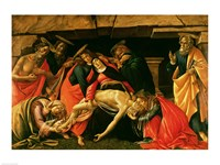 Lamentation of Christ. c.1490 Fine Art Print