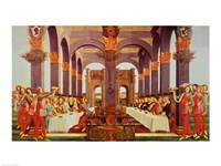 The Wedding Feast by Sandro Botticelli - various sizes