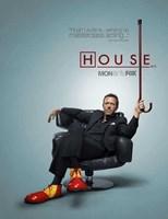 """House (TV) - 11"""" x 17"""""""